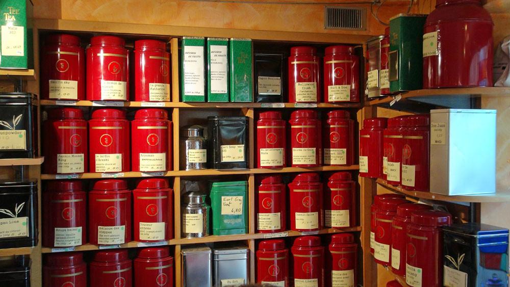 Thés (beaucoup de thés parfumés, trop même !)