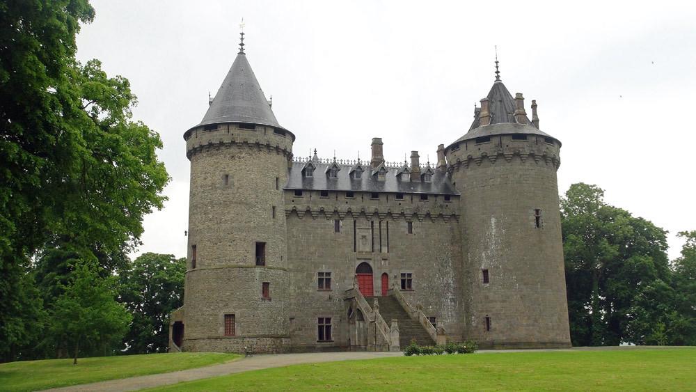 Le château (privé) de Combourg