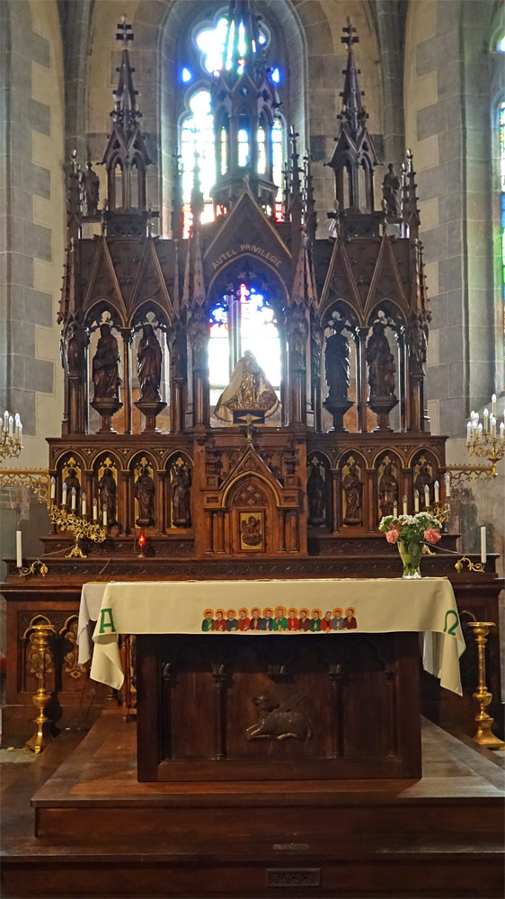 Eglise Saint-Mathieu - L'autel