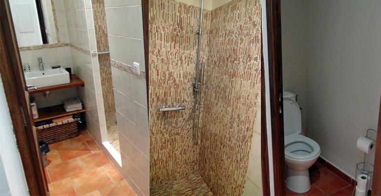 Cabinet de toilette, douche & WC