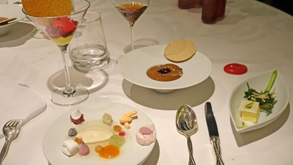 Quatre premiers desserts