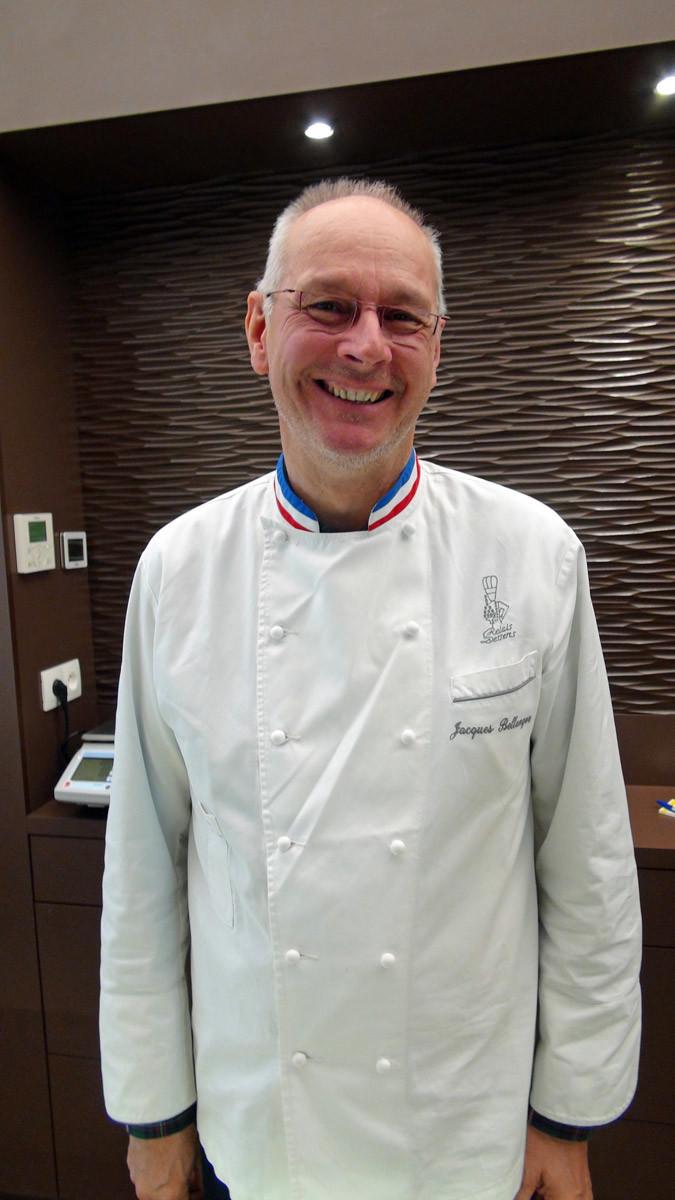 Jacques Bellanger, MOF Pâtissier Confiseur 1982