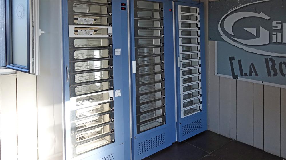 Le distributeur automatique d'huîtres