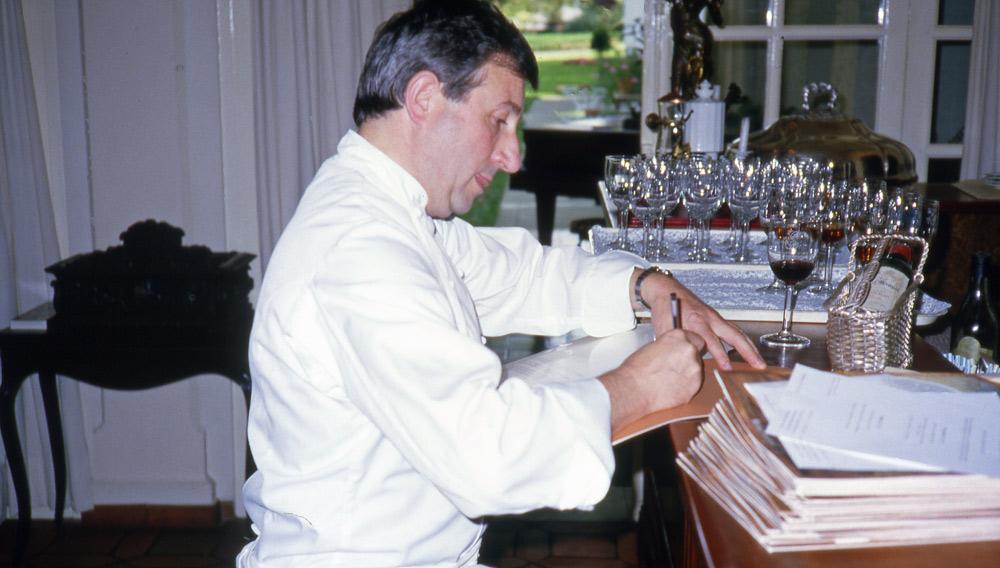 Michel Guérard le 13 septembre 1983
