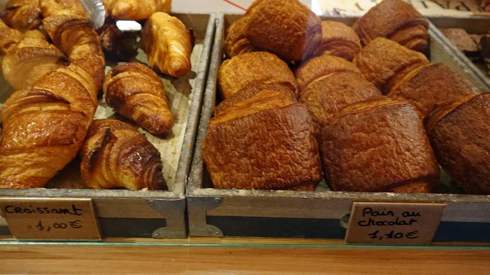 Croissants & pains au chocolat