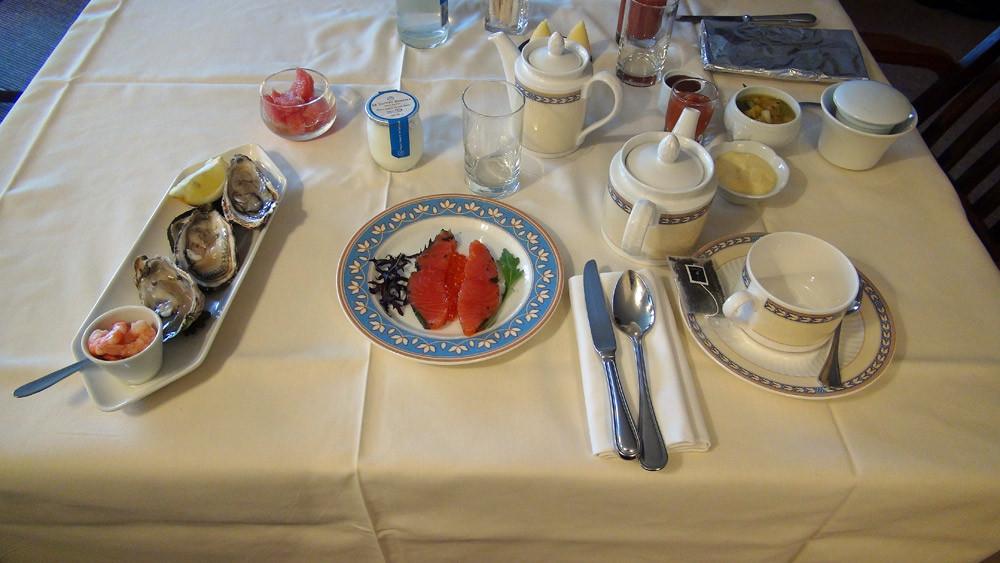"Petit déjeuner : Accords marins 'l'Armor"""