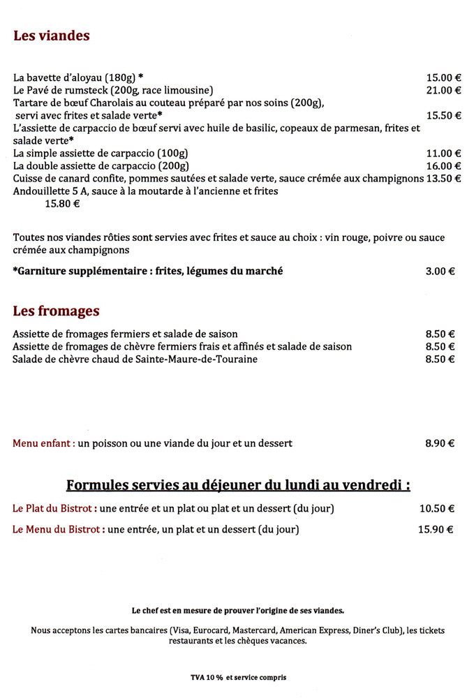 "Carte tirée du site ""Restaurants Michelin"""