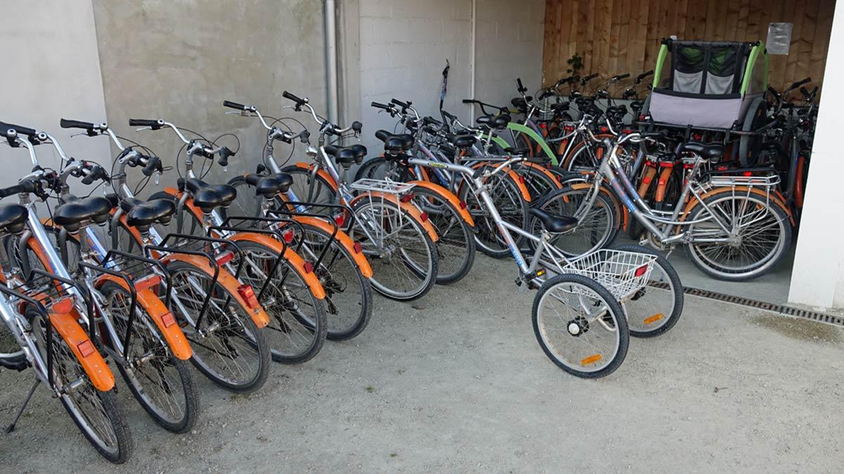Les bicyclettes à louer