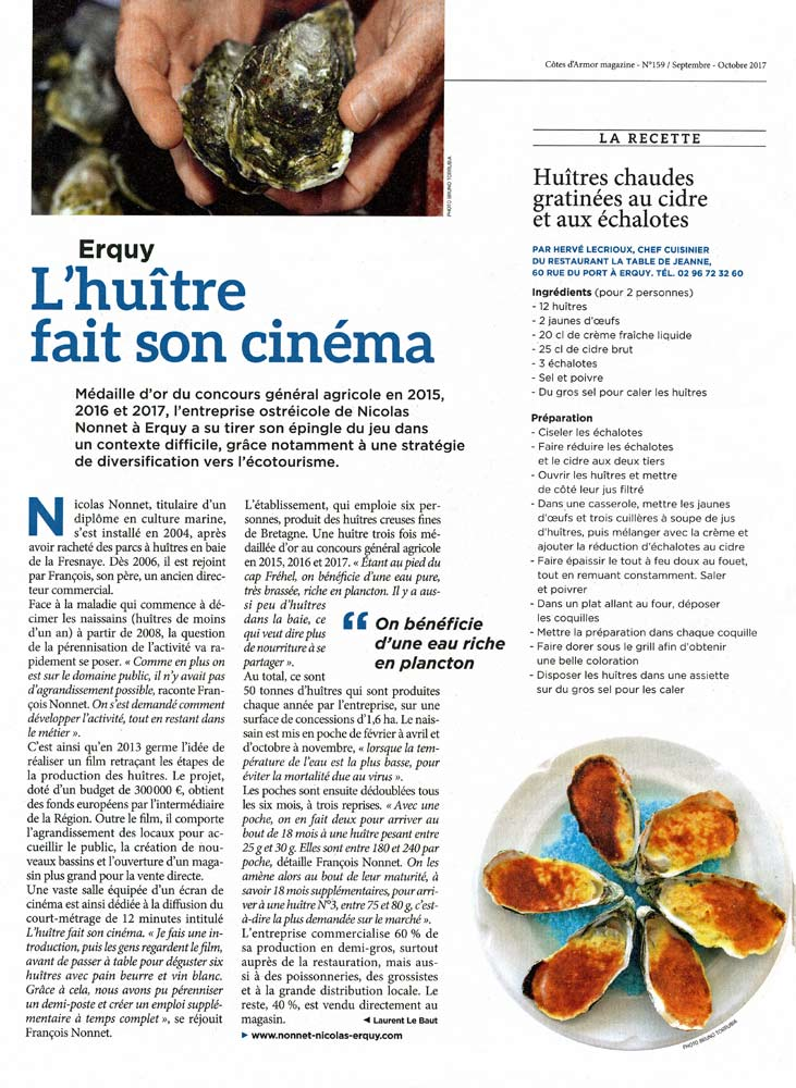 L'article enjôleur