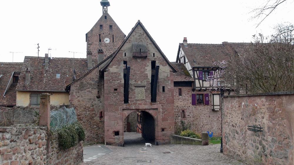 Riquewihr - L'entrée de la ville