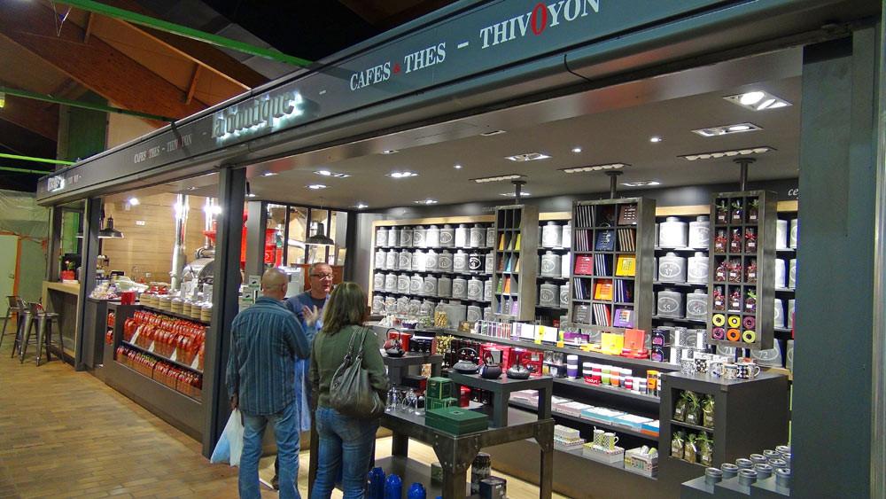 Le magasin de la Halle Diderot