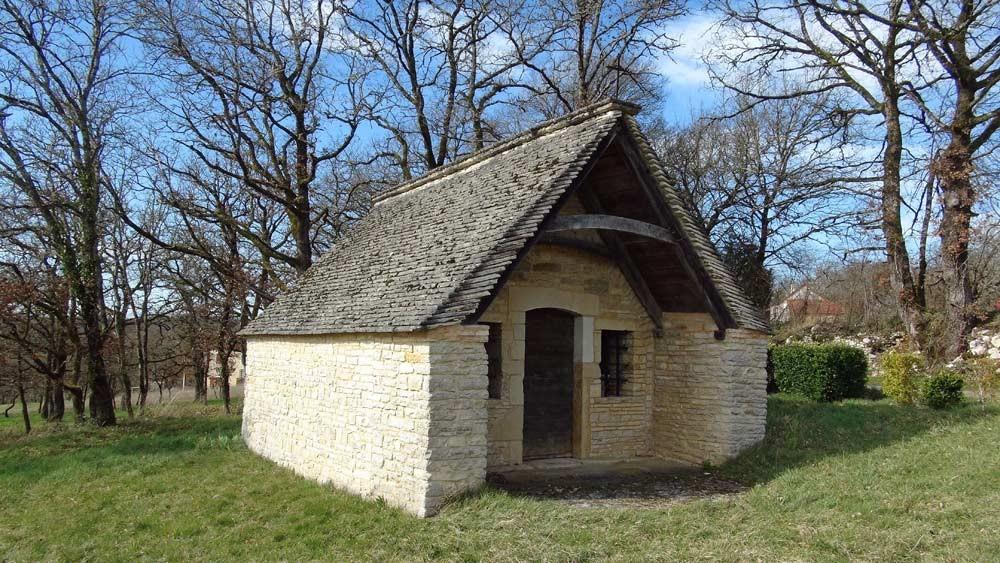 Petite chapelle près de Thédirac