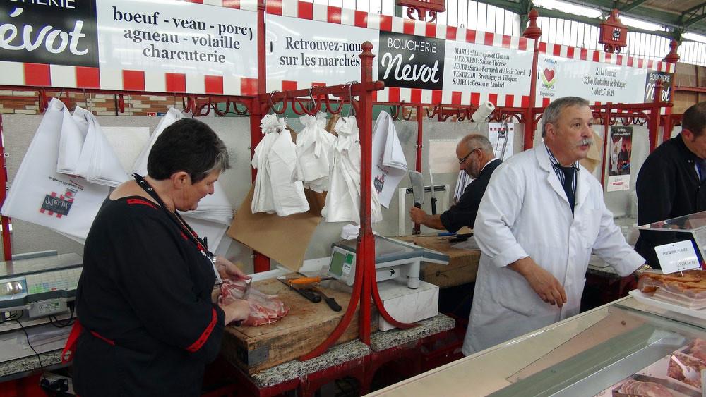 Marché des Lices de Rennes - Mme et M. Nevot