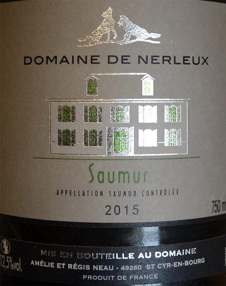 Saumur blanc 2015
