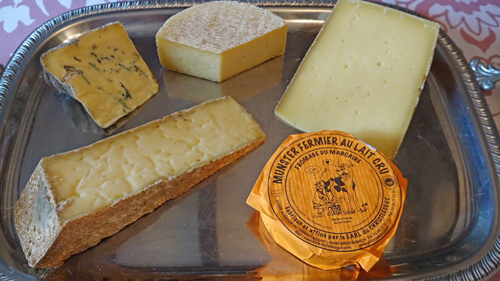 Fromages alsaciens
