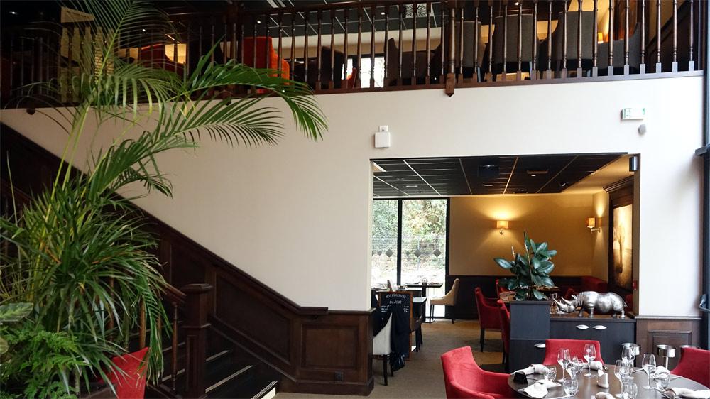 Une des salles du RDC