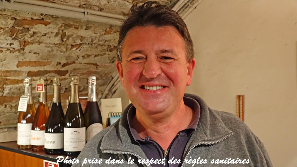 Frédéric Meurgey, toujours souriant !