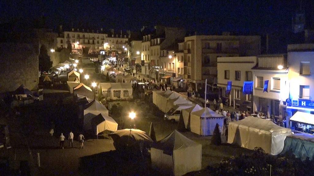 Animation du samedi soir sur le quai du Pont-Neuf