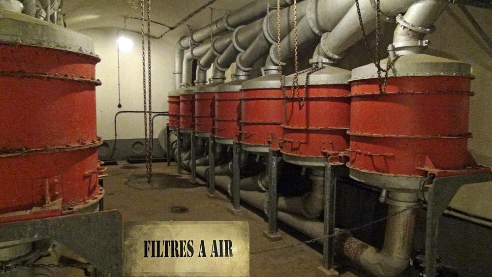 Les énormes filtres à air