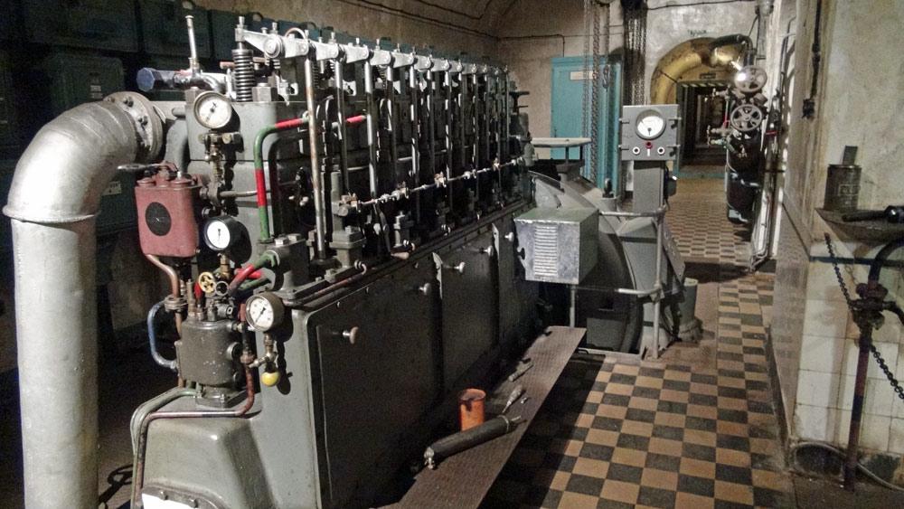Moteur diésel pour produire de l'électricité