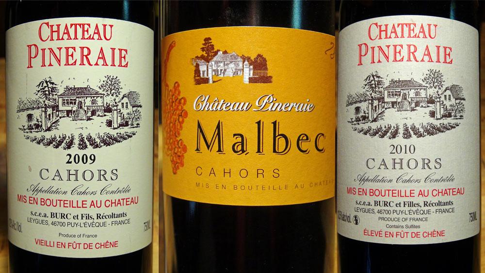 Château Pineraie et Malbec