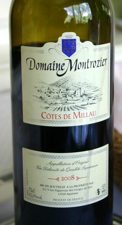 Le Côtes de Millau 2008