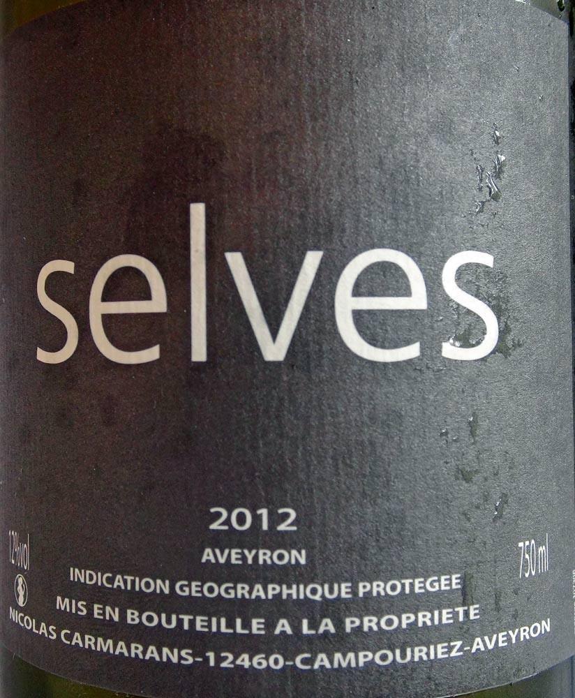 """IGP Aveyron 2012 """"Selves"""" (Chenin)"""