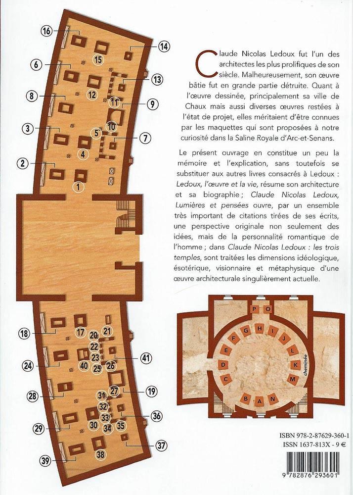 Plan du bâtiment où sont exposées les différentes et remarquables maquettes