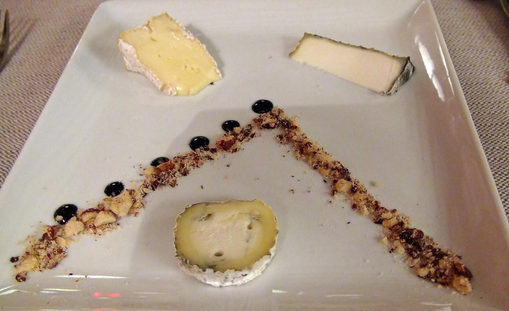 Valençay, Selles-sur-Cher & Camembert de Normandie, éclats de noisettes