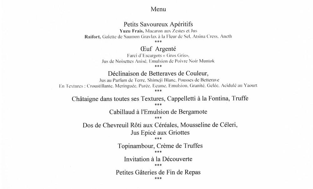 """Notre menu """"Plus de 60 ans"""""""
