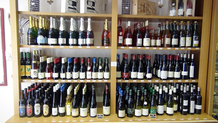Quelques vins de la région