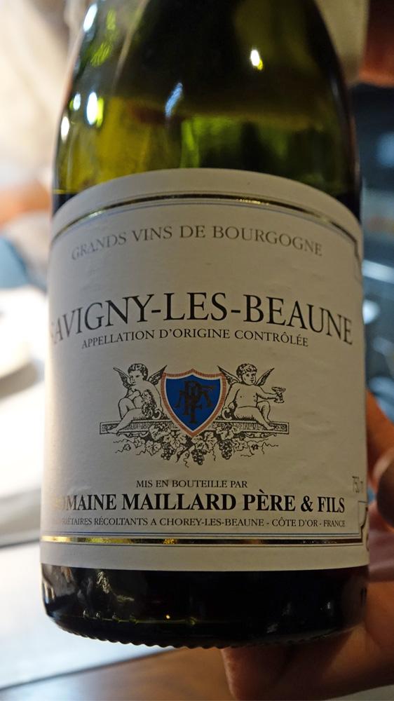 Le vin sur la Carpe à la Chambord