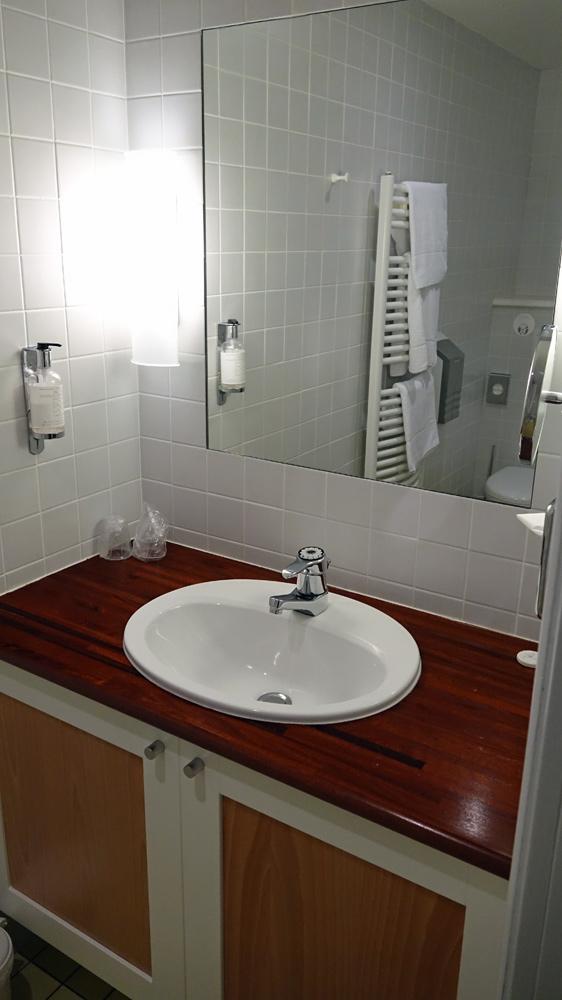 Le cabinet de toilettes