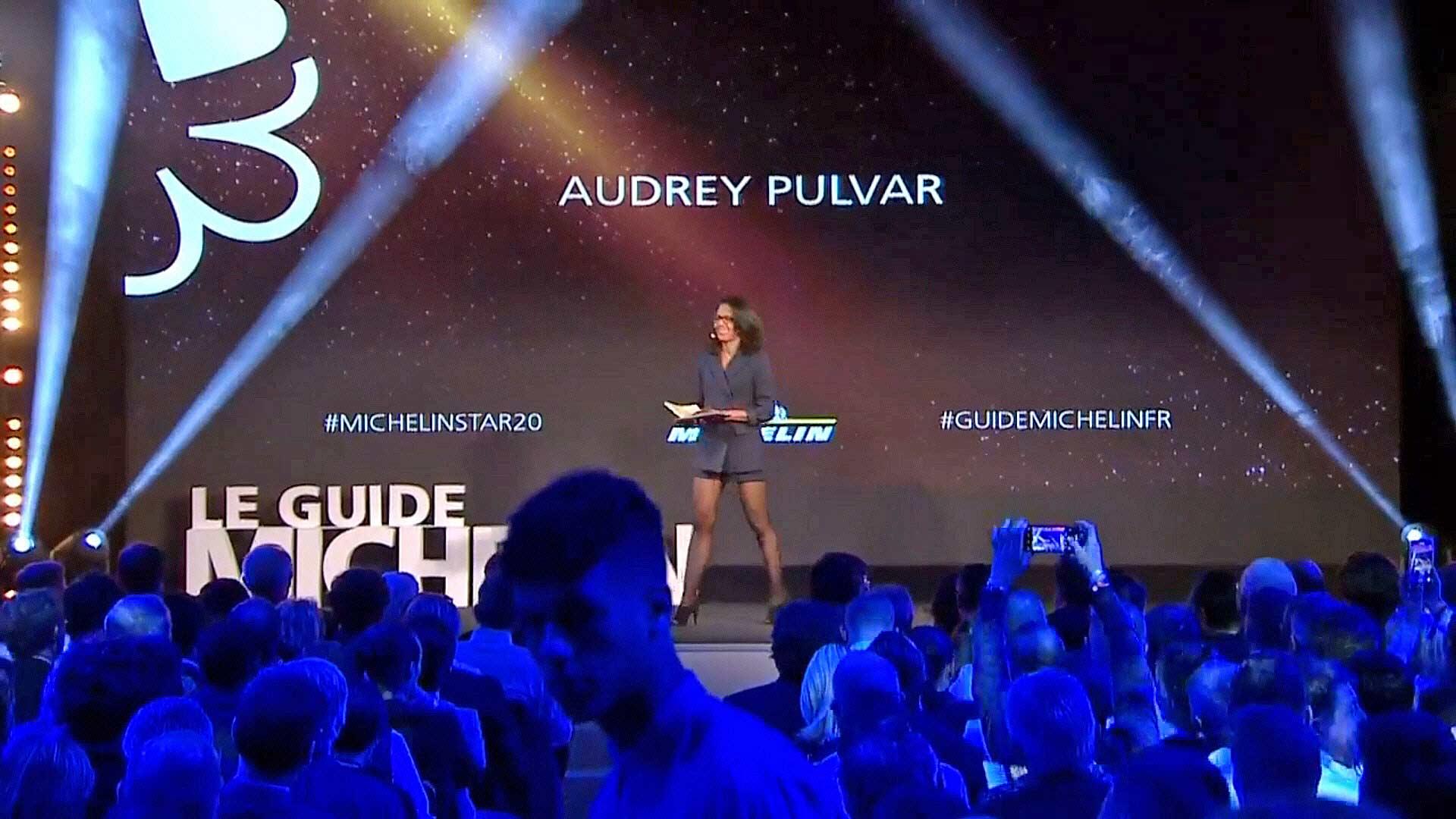 Arrivée d'Audrey Pulvar
