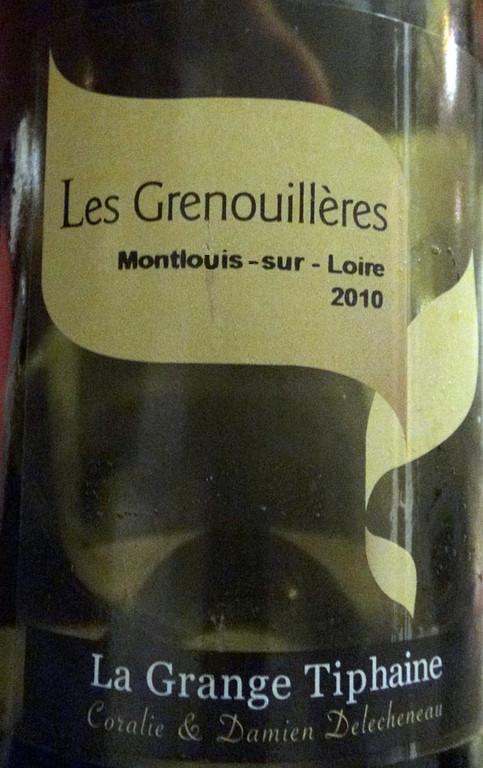 """Montlouis-sur Loire """"Les Grenouillères"""" 2010"""