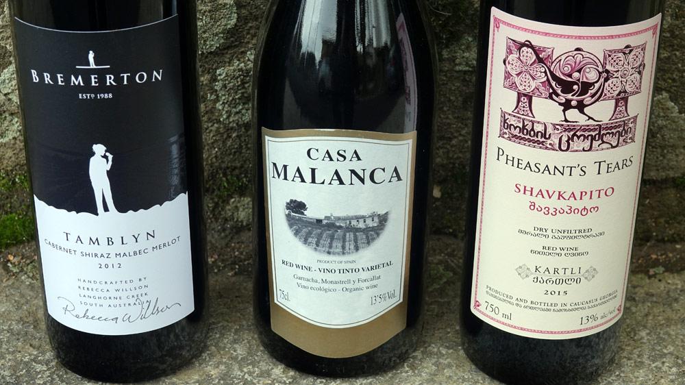 3 mars 2018 : les 3 vins sont prêts à être dégustés du côté de Burgnac