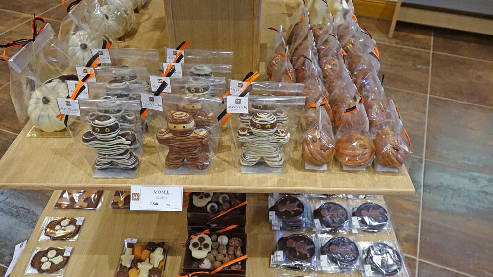 Friandises chocolatées : Momies