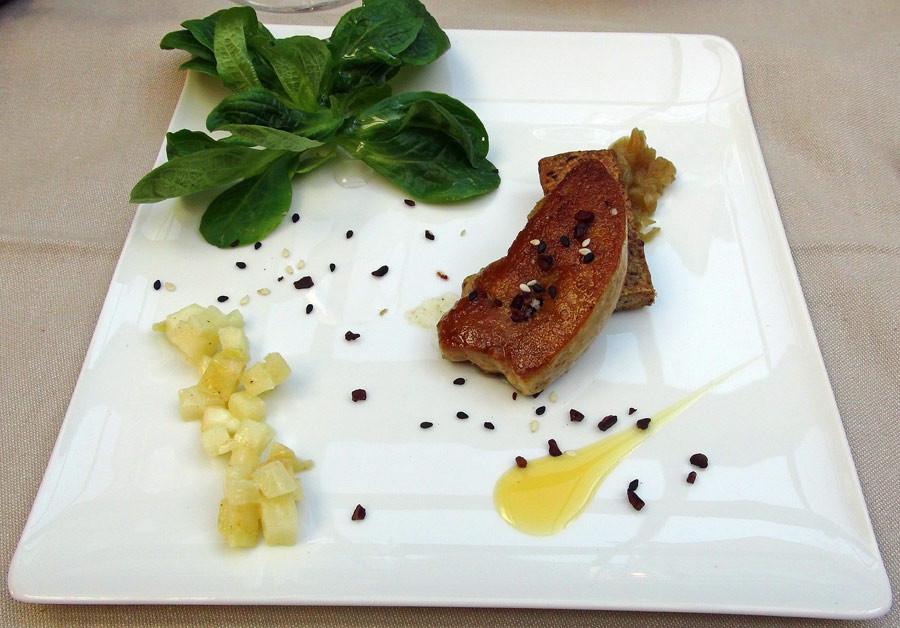 Foie gras de canard poêlé