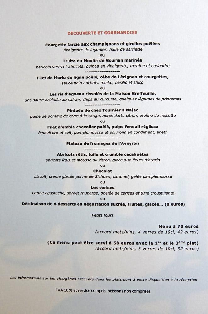 Découverte et Gourmandise à 58 ou 70 € 00