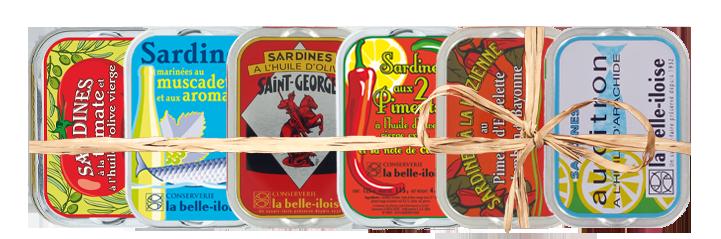 Belle-iloise, les sardines