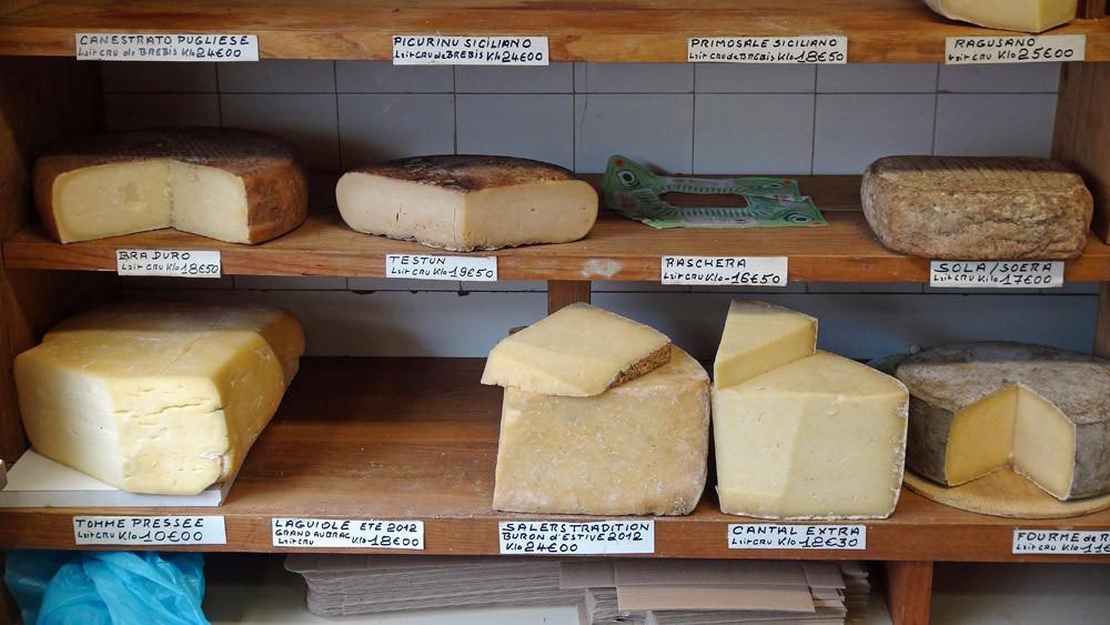 Bra duro, Testun, Ragusano, Salers Tradition de buron et d'estive 2012 ...
