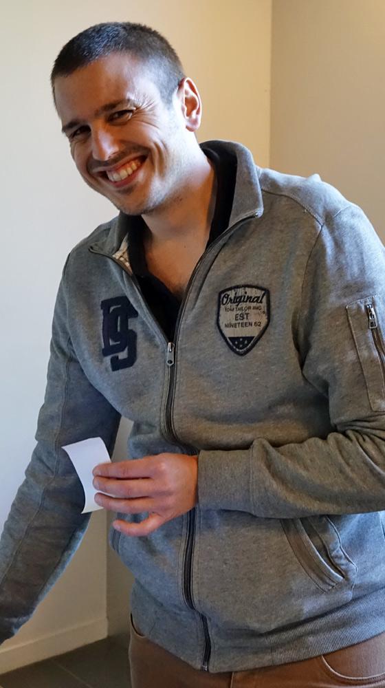 Lucas Gerber - (responsable du caveau)