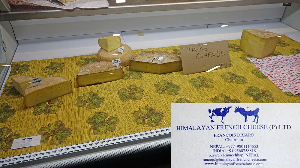 Fromage de Yak de l'Himmalaya