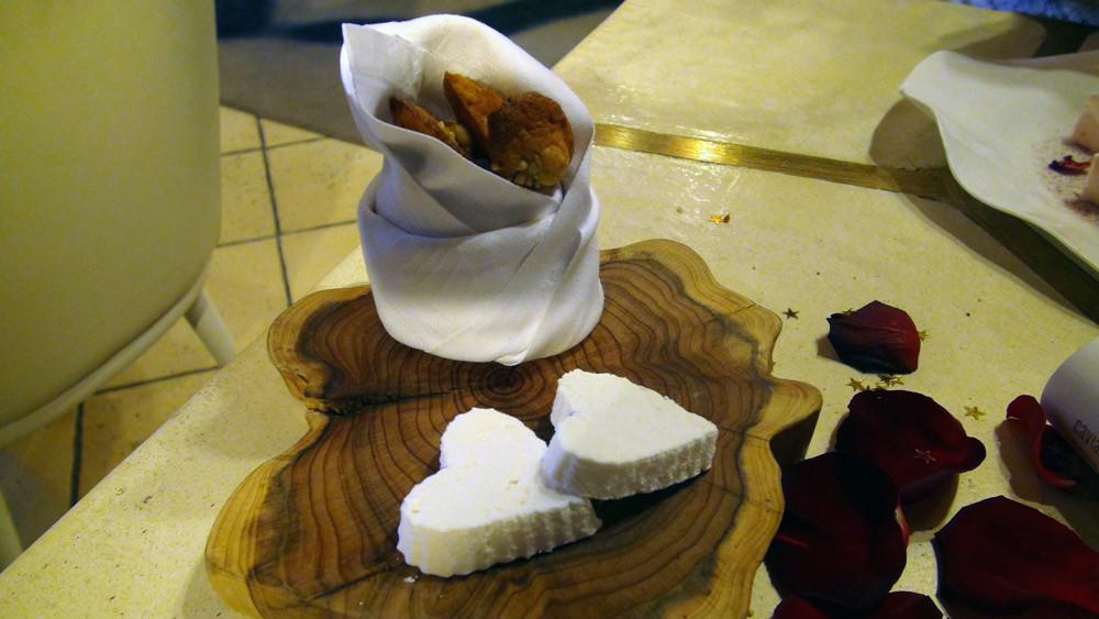 Madeleines au miel et graines de sarrasin, et des Guimauves au caramel