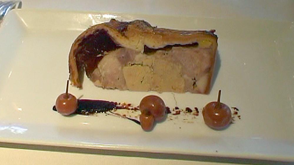 """Le """"Pâté de Chartres"""" du Grand-Monarque dégusté le 21 févrrier 2010 (1 étoile Michelin)"""