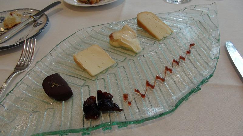 Assiette de fromages fermiers