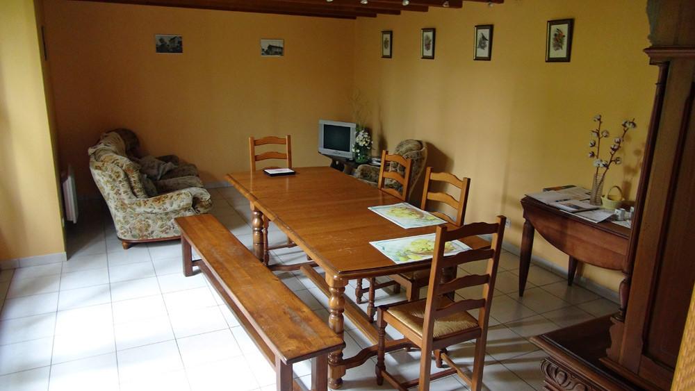 Salon de repos et des petits déjeuners
