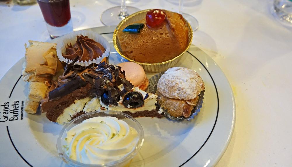 Mon assiette de 7 desserts :