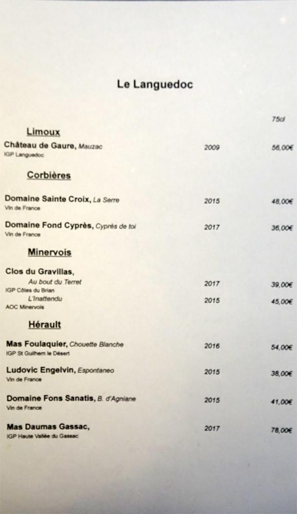 Vins blancs du Languedoc
