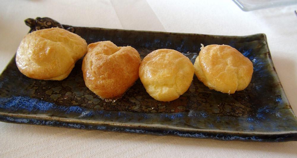 Gougères au Parmesan